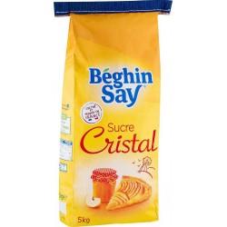 Béghin Say Sucre Cristal 5Kg (lot de 2)