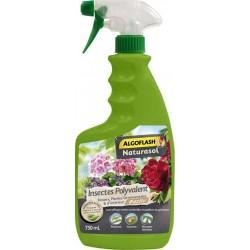 Algoflash Spray Naturasol Insectes Polyvalent Rosiers Plantes Ornementales et d'Intérieur 750ml (lot de 3)
