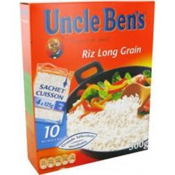 Uncle Ben's Riz Long Grain 500g (lot de 6)