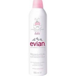 Evian Brumisateur Spray Bébé 300ml (lot de 4)