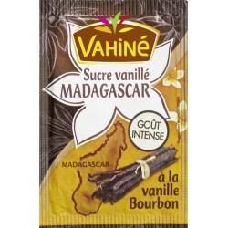 Vahiné Sucre Vanillé Madagascar Goût Intense à la Vanille Bourbon par 5 Sachets de 7,5g (lot de 5 soit 25 sachets)