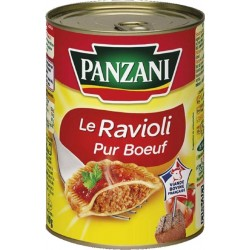 Panzani Le Ravioli Pur Boeuf 400g (lot de 12)