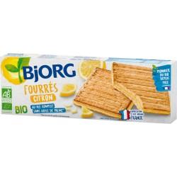 Bjorg Biscuits fourrés citron bio