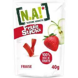 N.A! Confiserie fruit fraise 50g (lot de 20)
