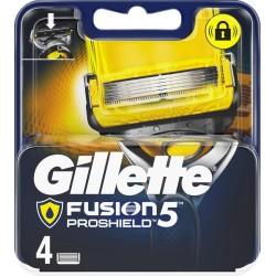 Gillette Fusion5 Proshield Lames de Rasoir pour Homme 4 Recharges