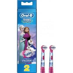 Oral B Recharge brossette dentaire électrique power Disney reine des neiges