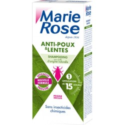 Marie Rose Shampooing anti-poux et lentes
