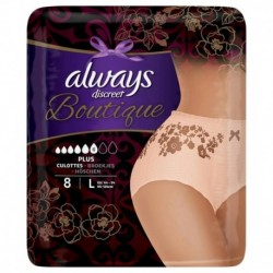 Always Discreet Boutique Culottes Plus Taille L x8 (lot de 2)