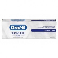 Oral-B Dentifrice 3D White Luxe Perfection 75ml (lot de 3)