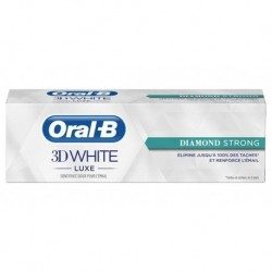 Oral-B Dentifrice 3D White Luxe Diamond Strong 75ml (lot de 3)