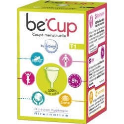 1 Be Cup Coupe menstruelle Taille 1 BE' CUP