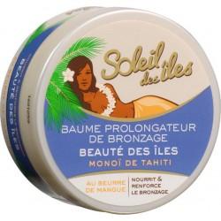 Soleil Des Îles Baume Prolongateur de Bronzage Monoï de Tahiti au Beurre de Mangue 150ml (lot de 2)