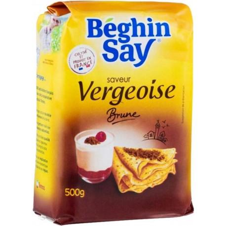 Béghin Say Saveur Vergeoise Brune 500g (lot de 3)