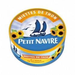 Petit Navire Miettes de Thon à l'Huile De Tournesol 160g (lot de 5)