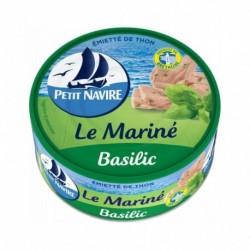 Petit Navire Emietté de Thon Le Mariné Basilic 110g (lot de 5)