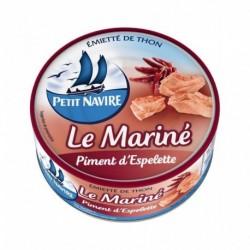 Petit Navire Thon Le Mariné Piment d'Espelette 110g (lot de 5)
