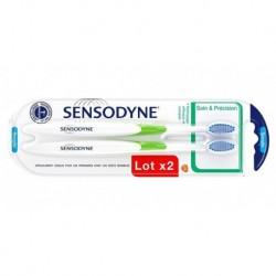 Sensodyne 2 Brosses à Dents Soin Et Précision Souple (lot de 2)