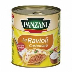 Panzani Le Ravioli Carbonara Sauce Crème & Lardons 800g (lot de 6)