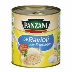 Panzani Le Ravioli Aux Fromages Farce à la Ricotta et à la Mozzarella 800g (lot de 6)