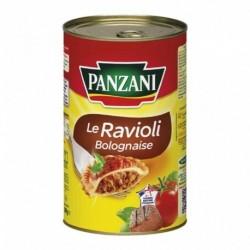 Panzani Le Ravioli Bolognaise Maxi Format 1,2Kg (lot de 4)