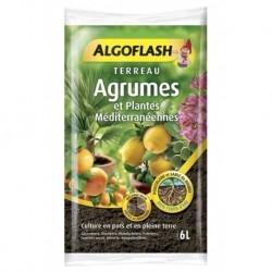 Algoflash Terreau Agrumes et Plantes Méditerranéennes Mélange Riche 6L (lot de 2 soit 12L)