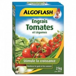 Algoflash Terreau Tomates et Légumes Stimule la Croissance 2Kg