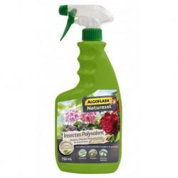 Algoflash Spray Naturasol Insectes Polyvalent Rosiers Plantes Ornementales et d'Intérieur 750ml