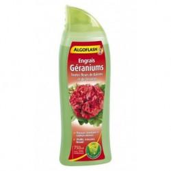 Algoflash Engrais Géraniums Toutes Fleurs de Balcons et de Terrasses 750ml (lot de 2)