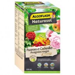 Algoflash Naturasol Insecticide Pucerons et Cochenilles Araignées Rouges 250ml (lot de 3)