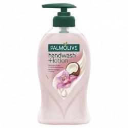 Palmolive Pompe Gel Lavant Mains + Crème Hydratante Parfum Orchidée & Coco 250ml (lot de 10)