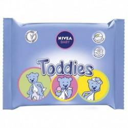 Nivea Baby Lingettes Toddies x60 (lot de 6 soit 360 lingettes)