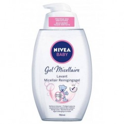 Nivea Baby Gel Micellaire Lavant 750ml (lot de 3)