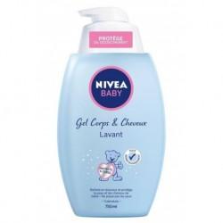 Nivea Baby Gel Corps et Cheveux Lavant 750ml (lot de 3)