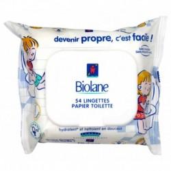 Biolane Lingettes Papier Toilette x54 (lot de 6 soit 324 lingettes)