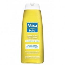 Mixa Bébé Shampooing Très Doux Ne Pique Pas Les Yeux 250ml (lot de 4)