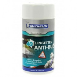 Michelin Expert Lingettes Anti-Buée et Condensation x40 (lot de 2 soit 80 lingettes)