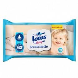 Lotus Baby Peau Nette Lingettes (lot de 6 soit 384 lingettes)