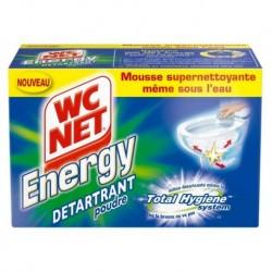 WC Net Energy Détartrant Poudre 6 Sachets 60g (lot de 12 sachets)