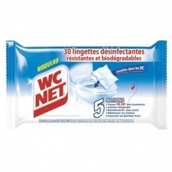 WC Net 30 Lingettes Désinfectantes (lot de 120 lingettes)