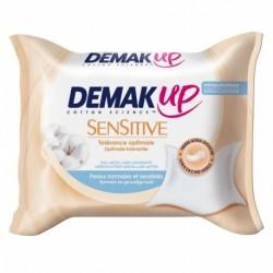 Demak Up Sensitive Tolérance Optimale Peaux Normales et Sensibles x23 Lingettes (lot de 4)