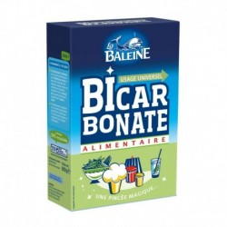 La Baleine Bicarbonate Alimentaire Usage Universel 800g (lot de 4)
